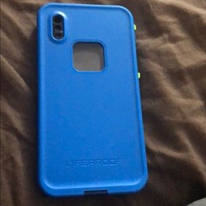 Life proof phone case for iPhone X